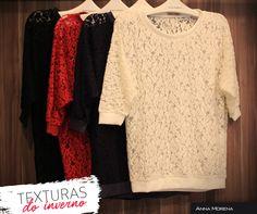 Anna Morena | Fall Winter Lookbook 2014 | Lookbook Outono Inverno 2014 | blusa feminina; blusa aveludade; texturas; malhas; trend.