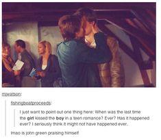 Annabeth kissed Percy
