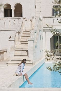 """""""Down the steps ... and by the pool"""" FROM: Italy -  Apulia"""