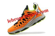 newest 06d6e dfd38 Jordan CP3.VIX Chris Paul Shoes Orange Fluorescent Green