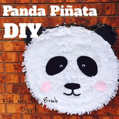 I made my own Panda Pinata for Marley's BIrthday Party. I allowed myself two weeks to make it, and I worked on it a little bit everyday and finished it after a week and a half. What you will…