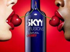 Skyy Vodka Cherry Ad