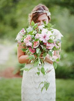 Beautiful farm wedding inspiration by Jennifer Tai
