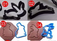 Cortadores De Biscoito Com Motivos De Páscoa - Kit C/ 6 Unid - R$ 89,40 em Mercado Livre