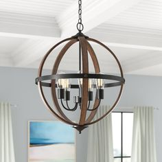 "60"" Standard Ceiling Fan with Pull Chain & Reviews 