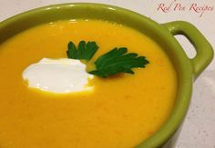 Carrot-ginger soup has a bit of a bite. Carrot Ginger Soup, Pick One, Farmers Market, Carrots, Soups, Bag, Desserts, Recipes, Food