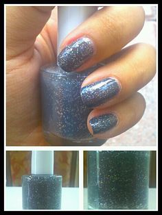 I haven't posted any nail art or polishes in a while! But i made this polish over the weekend. It's a medium grey (the term android grey comes to mind lol) with holoflecks. I wish I could convey it via pictures but the flecks look awesome in person! What do you guys think??