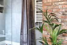 Dom w tamaryszkach 2 Thing 1, Dream House Exterior, Glass Vase, Curtains, Home Decor, Detached House, House Design, Blinds, Decoration Home