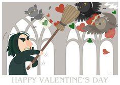 Happy Valentine's Day, Professor Snape!