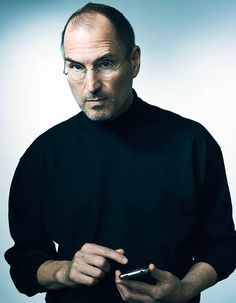 Portrait of Steve Jobs by Joe Pugliese l #photography To see more http://www.maxiapple.com/2014/02/portrait-photo-inedit-steve-jobs-joe-pugliese-images.html
