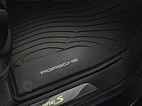 Amazon.com: Genuine Porsche Accessories 95804480051 All Weather Floor Mats (Set of 4): Automotive