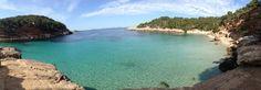 One of most beautiful beach in Ibiza