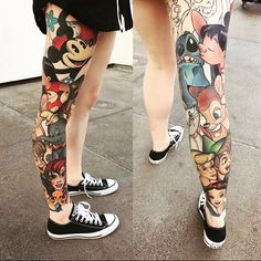 100 magical Disney tattoo ideas for every Disney fanatic. Tattoos last forever, but so does the love for Disney. Piercings, Piercing Tattoo, Body Art Tattoos, Tatoos, Tattoo Gallery, Tattoo Designs, Tattoo Ideas, Initial Tattoo, Marvel Tattoos