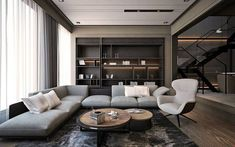 34 inspiring examples of use of luxury living room decor design 33 Living Room Paint, Living Room Kitchen, Home Living Room, Living Room Decor, Dining Room, Apartment Interior, Living Room Interior, Apartment Ideas, Apartment Living
