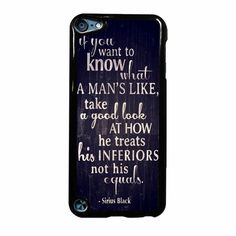 Harry Potter Quotes Three Ipod Touch 5 Case