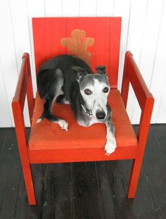 Mick Sheridan Upholstery: Prince of Wales investiture chair
