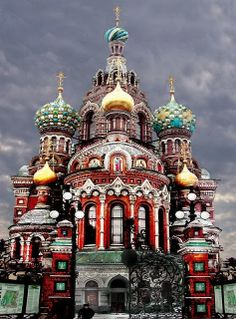 The Church of the Resurrection, Saint Petersburg, Russia (Not religious, but look at the architecture!)