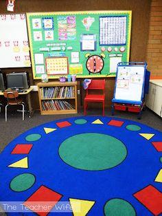 The Teacher Wife - Amazing blog of a first grade teacher