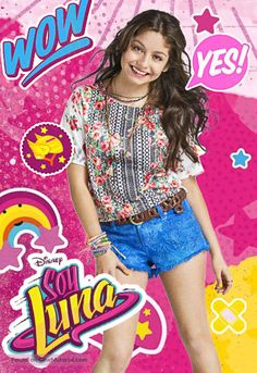"""Argentinian movie poster image for """"Soy Luna"""". The image measures 440 * 640 pixels and was added on 23 June Disney Channel, Channel 2, Sou Luna Disney, Nickelodeon Cartoons, Cimorelli, Bedroom Night Stands, Poster Pictures, Son Luna, Yoga For Kids"""