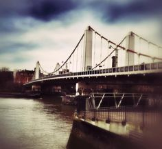 Chelsea Bridge, London