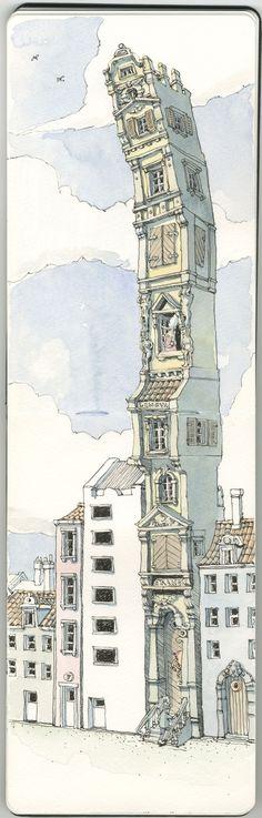 Mattias Adolfsson on Illustration Served