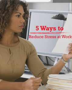 Regardless of your job, chances are that you experience stress from time to time in the workplace. Use these 5 tips to help you reduce stress at work! Campbell Soup Company is proud to support Go Red For Women.