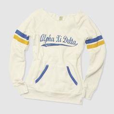 Vintage Alpha Xi Delta sweatshirt