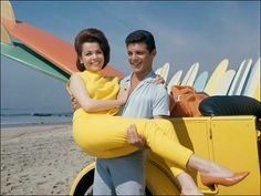Loved them!!! Mom and I watched those Beach Blanket Bingo movies.  With Annette and Frankie