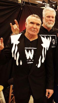 Nwo Wrestling, Wwe Raw And Smackdown, Scott Hall, Kevin Nash, Legends, Art, Art Background, Kunst, Performing Arts