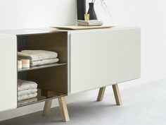 Sectional vanity unit with drawers Esperanto Collection by Rexa Design | design Monica Graffeo