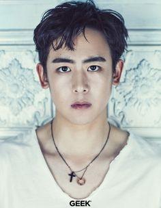 Nichkhun (2PM) - Geek Magazine July Issue '16