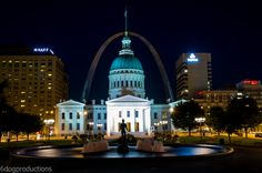 Gateway Arch in St Louis, MO