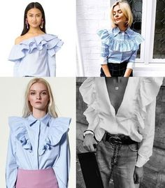 One trend and one look #3 (ruffles)