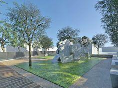 Πλατεία ΠηγώνΣκάλα, Λακωνία2009 - 2015ΔημόσιοΟλοκληρώθηκε5600 τ.μ.Η Utopia landscapes σχεδίασε το σύνολο των χώρων της Πλατείας Πηγών, της κεντρικής πλατείας της πόλης της Σκάλας στη Λακωνία. Στο σημείο αναβλύζουν πηγές, όπως υποδηλώνει και το τοπωνύμιο. Η περιοχή λοιπόν, παρ' ότι αστική, αποτελεί ένα πολύ ευαίσθητο φυσικό υδάτινο οικοσύστημα.Η βασική ιδέα σχεδιασμού επικεντρώθηκε στην προστασία και στην ανάδειξη του φυσικού οικοσυστήματος, μετατρέποντας το ταυτόχρονα σε χώρο συνάθροισης Central Square, Urban Design, Fresh Water, Greece, Sidewalk, Landscape, Nature, Delicate, Spaces