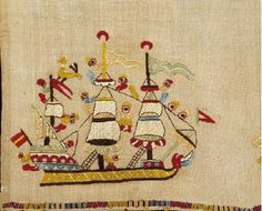 Skyros ship embroidery Benaki