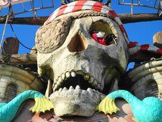 Pirate Flyer (POV) Coral Island Blackpool England UK