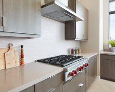 Kitchen Backsplash, Kitchen Cabinets, Visual Texture, White Quartz, Quartz Countertops, Ivory White, Porcelain Tile, Recycled Materials, Wave