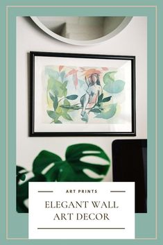 Elegant and artistic fine art prints that will elevate your home decor with a touch of color and personality. If you love to dress your walls with art pieces that reflect your love for nature and a feminist view of the world, you will love this collection of watercolor paintings!#feministart #walldecor #artisticprints #fineartprints #watercolorpainting #gicleeprints Watercolor Artwork, Watercolor And Ink, Wall Art Prints, Fine Art Prints, Gesture Drawing, Colorful Artwork, Feminist Art, Art Of Living, Your Paintings
