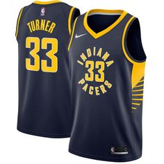 55cd7b0d5 Nike Pacers  33 Myles Turner Navy Blue NBA Swingman Jersey Nba Swingman  Jersey