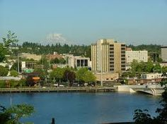 This is Olympia, WA. My hometown, I sometimes bash this place and say how horrible it is..but there are some really pretty places here. You should visit in the summer, or fall time. Super nice.