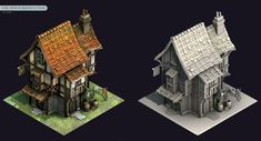 ArtStation - Rage War Houses, Georgi Petrov