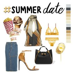 """""""Dinner and a movie, maybe ice cream later"""" by obsessedaboutstyle ❤ liked on Polyvore featuring Tom Ford"""