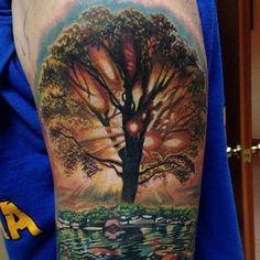 Tree Of Life Mens Amazing Tattoo Design Ideas