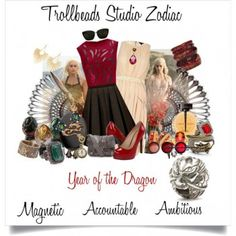 Trollbeads Studio Chinese Dragon Zodiac with some Daenerys from Game of Thrones (thanks Khaleesi!)