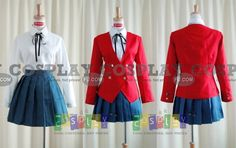 Toradora Girl School Uniform from Toradora - Tailor-Made Cosplay Costume
