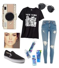 """""""NYC"""" by sabrinawimer on Polyvore featuring Kate Spade, Old Navy, Vans and Givenchy"""