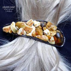 Hairpin, the miracle of amber. Luxury GIFT. Real hand made. Perfect for thick hair // Spinka do włosów, cud bursztynu. PREZENT luksusowy. Prawdziwy hand made. Do gęstych włosów