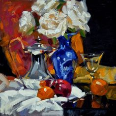 jack morrocco   Zoom Art History, Flower Art, Still Life, Galleries, Artists, Music, Flowers, Painting, Colors