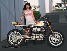 Check out Chopper Dave's Insane Turbo Sportster on www.hotbikeweb.com