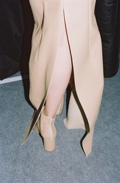 Maison Martin Margiela SS12 --- nude with grey or silver